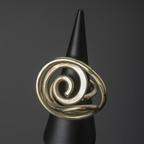 brass galaxy ring