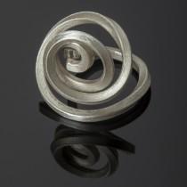 galaxy silver ring