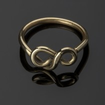 infinity brass ring